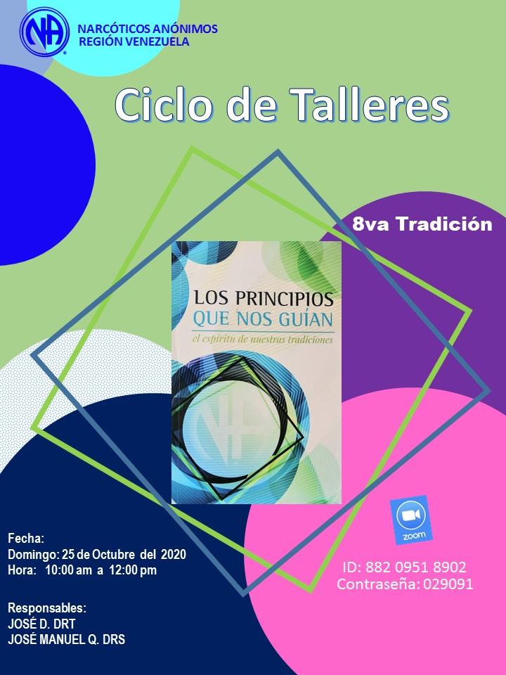 Ciclo de talleres 8va Tradición_25 de octubre