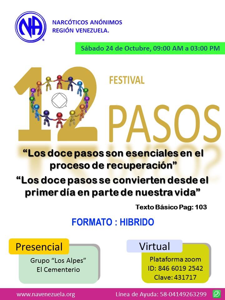 4to Festival de Pasos - formato hibrido